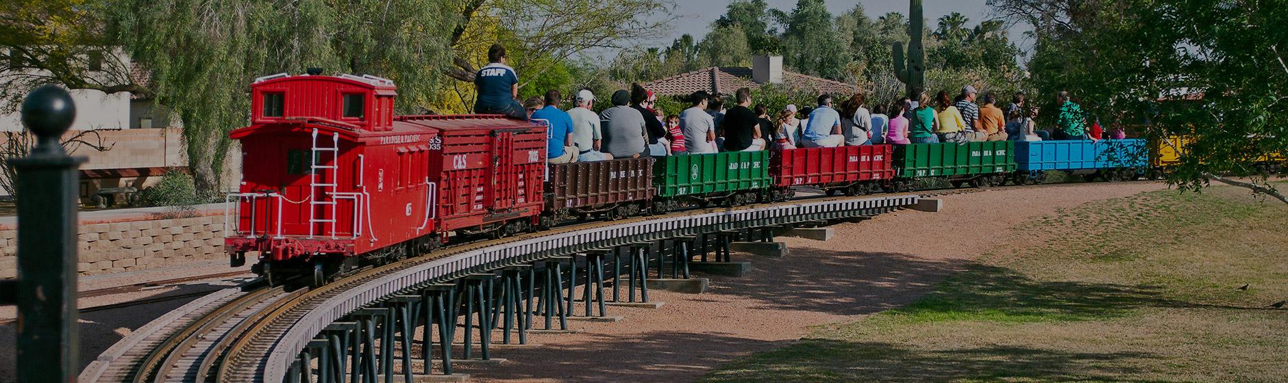 Rides at McCormick-Stillman Railroad Park